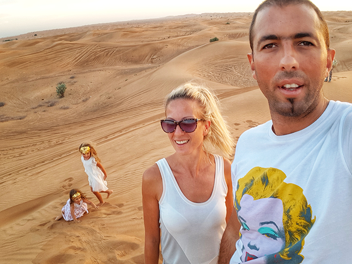 Pustinjski safari u Dubaiju