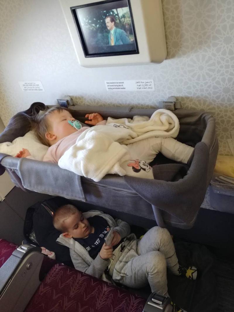 Kids friendly Qatar Airways