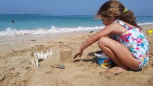 Aktivnosti na plaži sa decom