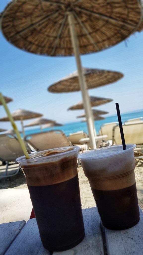 kafa, kafa u Grckoj, frappe, cappucciono freddo