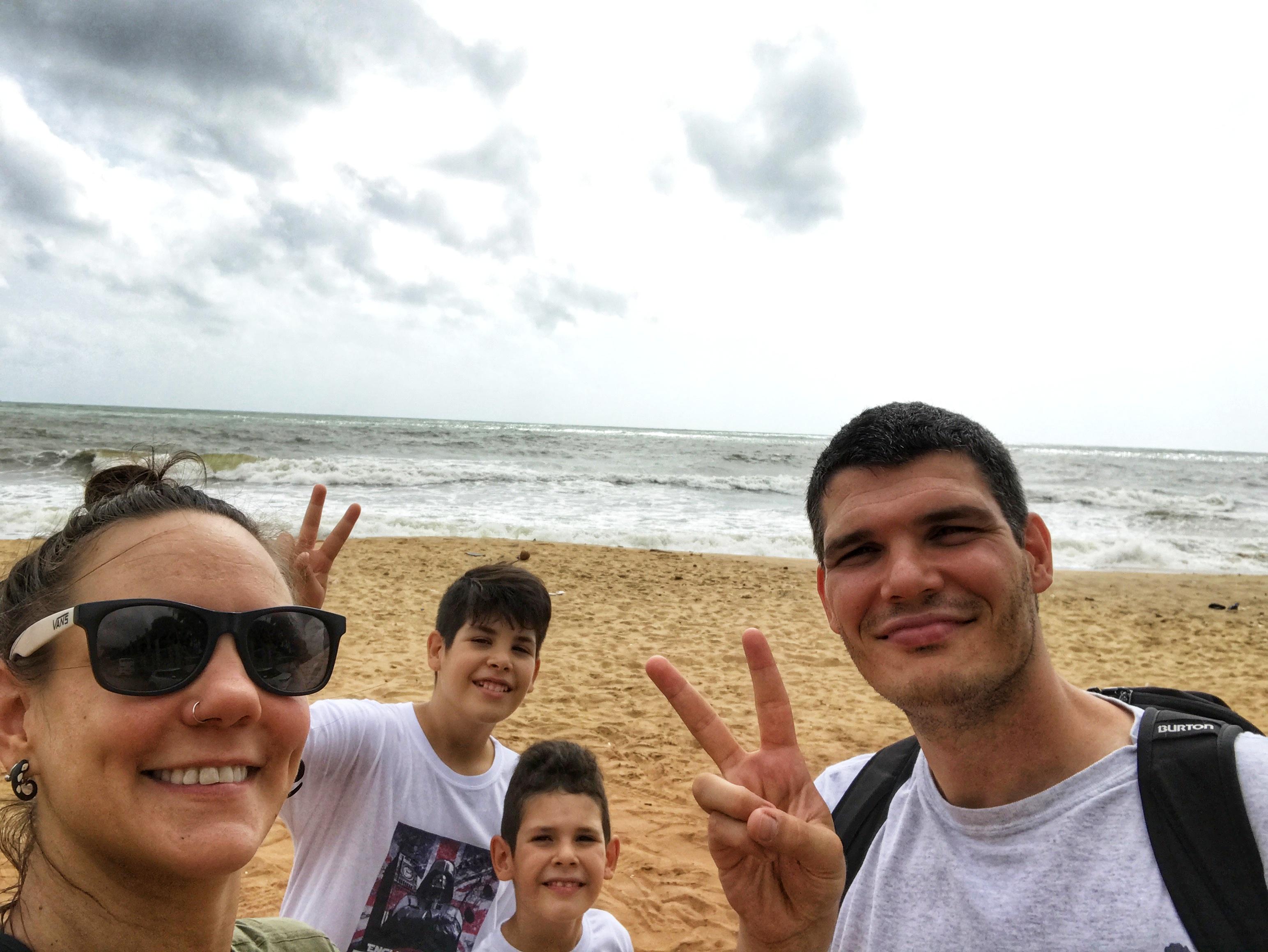 Porodično putovanje na Šri Lanku